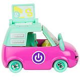 Shopkins Cutie Cars S3 Мини-машинка Ноут-врум Ноутбук лимузин 57113 Laptop Limo Die Cast Cutie Car #QT3-09, фото 3
