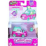 Shopkins Cutie Cars S3 Мини-машинка Ноут-врум Ноутбук лимузин 57113 Laptop Limo Die Cast Cutie Car #QT3-09, фото 4
