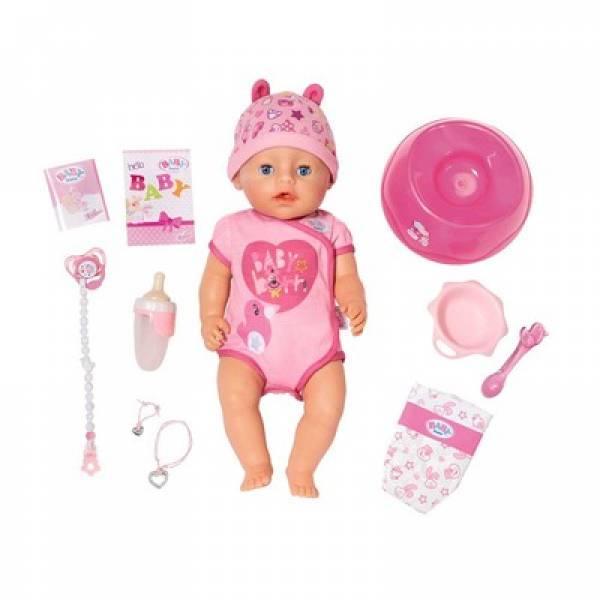 Zapf Чарівна малятко Ніжні Обійми 824368 Baby Born Interactive Doll
