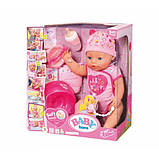 Zapf Чарівна малятко Ніжні Обійми 824368 Baby Born Interactive Doll, фото 2