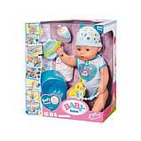 Zapf Очаровательная малышка Нежные Объятия мальчик 824375 Baby Born Interactive Doll, фото 3
