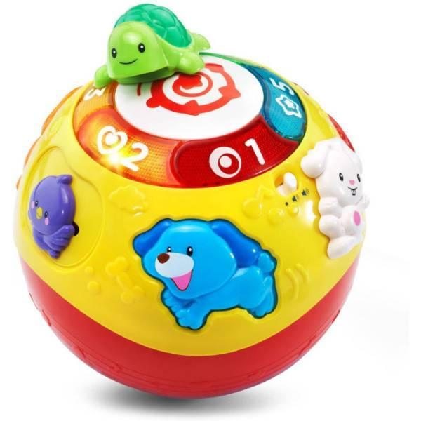 VTech Интерактивный развивающий мяч черепашка Wiggle and Crawl Ball