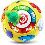 VTech Интерактивный развивающий мяч черепашка Wiggle and Crawl Ball, фото 2