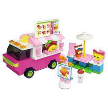 Shopkins Kinstructions Конструктор Фургончик с едой 37360 Food Fair Truck