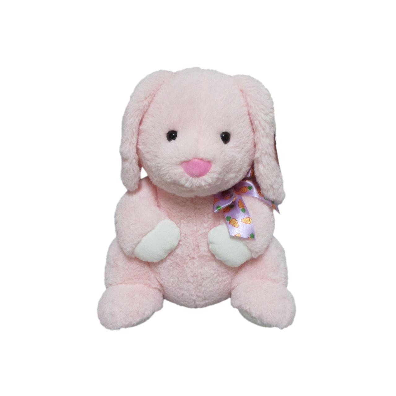 Way To Celebrate Мягкая игрушка пасхальный зайчик розовый Easter Standing Pink Bunny