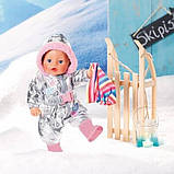 Zapf Одежда для куклы пупса Зимний комбинезон 826942 Baby Born, фото 2