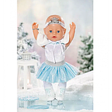 Zapf Кукла пупс Балерина Снежинка серия Нежные объятия 831250 Baby Born, фото 2