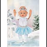 Zapf Лялька пупс Балерина Сніжинка серія Ніжні обійми 831250 Baby Born, фото 2