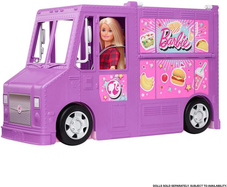 Barbie Барби Фургончик с едой без куклы GMW07 Fresh 'n Fun Food Truck Foodtruck