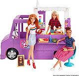 Barbie Барби Фургончик с едой без куклы GMW07 Fresh 'n Fun Food Truck Foodtruck, фото 2