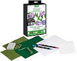 Crayola Творческий набор сделай гирлянду из цветов с LED подсветкой 40758 DIY String Lights Kit Flower Lights, фото 2