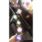 Crayola Творческий набор сделай гирлянду из цветов с LED подсветкой 40758 DIY String Lights Kit Flower Lights, фото 6