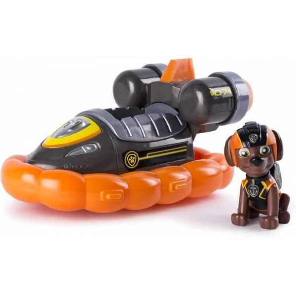 Paw Patrol Щенячий патруль зума лодка на воздушной подушке Mission Paw Zuma's Mission Hovercraft