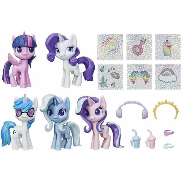 My Little Pony Волшебное Зелье набор из 5 пони блестящие единороги E9106 Unicorn Sparkle Collection