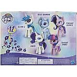 My Little Pony Волшебное Зелье набор из 5 пони блестящие единороги E9106 Unicorn Sparkle Collection, фото 3