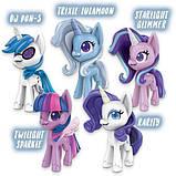 My Little Pony Волшебное Зелье набор из 5 пони блестящие единороги E9106 Unicorn Sparkle Collection, фото 4