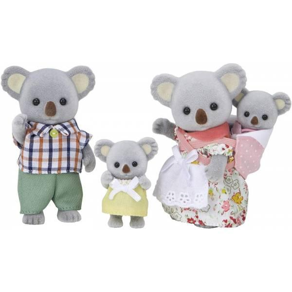 Sylvanian Families Calico Critters Семья коал Outback Koala Family