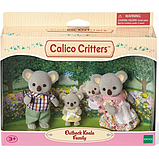 Sylvanian Families Calico Critters Семья коал Outback Koala Family, фото 2
