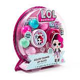 L.O.L. Surprise! Набор косметики блеск для губ 84669 Color Change Lip Gloss Kit, фото 2