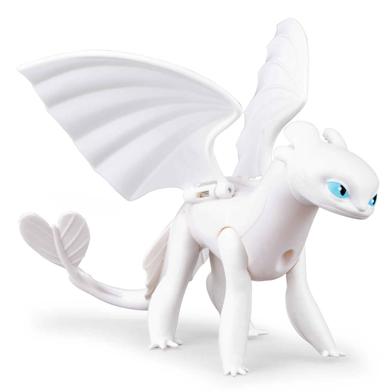 DreamWorks Dragons Как приручить дракона дракон дневная фурия Lightfury Dragon Moving Parts