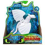 DreamWorks Dragons Как приручить дракона дракон дневная фурия Lightfury Dragon Moving Parts, фото 3