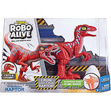 Robo alive интерактивный динозавр велоцираптор 25289r rampaging raptor dinosaur toy, фото 2