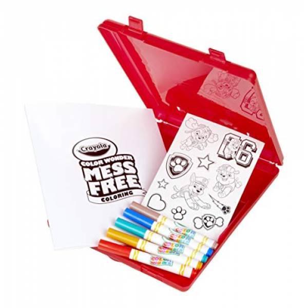 Crayola Набор Щенячий Патруль в удобном кейсе Color Wonder Paw Patrol Coloring Book Travel
