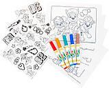 Crayola Набор Щенячий Патруль в удобном кейсе Color Wonder Paw Patrol Coloring Book Travel, фото 3