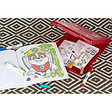 Crayola Набор Щенячий Патруль в удобном кейсе Color Wonder Paw Patrol Coloring Book Travel, фото 6