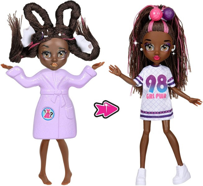 Failfix Перевоплащение кукла Танцовщица 12814 Dance.Stylz Total Makeover Doll Pack