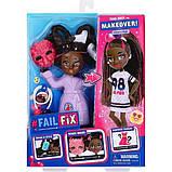 Failfix Перевоплащение кукла Танцовщица 12814 Dance.Stylz Total Makeover Doll Pack, фото 6