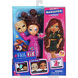 Failfix Перевоплащение лялька Гламурна Крихта 12803 Loves.Glam Total Makeover Doll Pack, фото 4