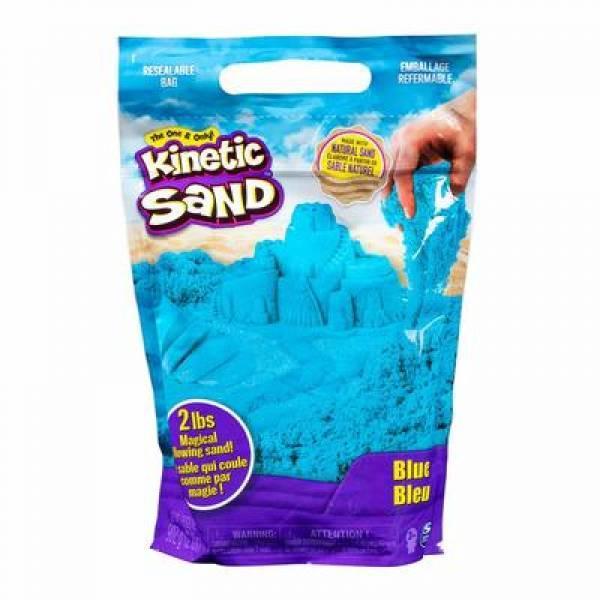 Kinetic Sand Кинетический песок синий цвет 907 грамм 71453 Colour