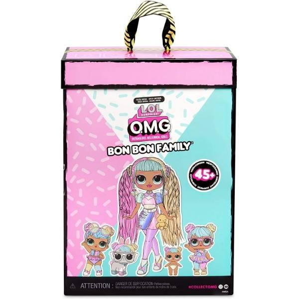 L.O.L. Surprise! Семья Кендилишис Бон Бон 422242 O.M.G. Candylicious Family Bundle Bon Bon Family