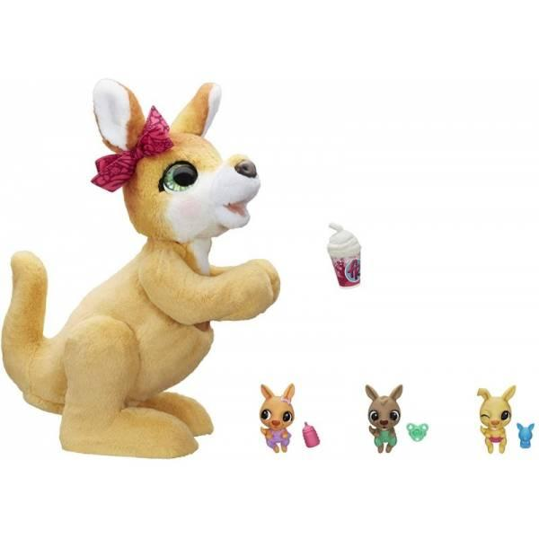 Furreal friends Интерактивная игрушка Джоси Кенгуру e6724 mama josie the kangaroo