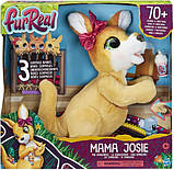 Furreal friends Интерактивная игрушка Джоси Кенгуру e6724 mama josie the kangaroo, фото 4