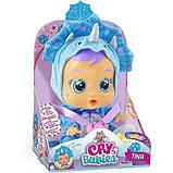 Cry Babies Интерактивная кукла пупс Плачущий младенец Тинаи тина динозавр 93225 Tina The Dino, фото 2