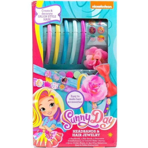 Sunny Day Творчий набір для створення прикрас для волосся 84729 Create Your Own Headbands Hair Jewelry