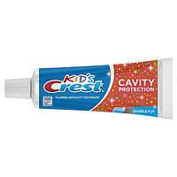 Crest Kid's Детская зубная паста блестящая Cavity Protection Toothpaste Sparkle Fun Flavor