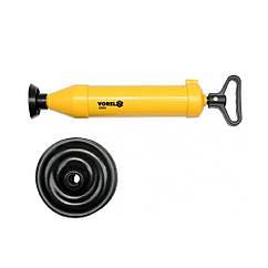 Вантуз(Ручной)D=65/155 мм Для Чистки Труб VOREL 55505