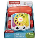 Fisher-price игрушка - каталка телефон chatter telephone fgw66, фото 2