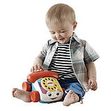 Fisher-price игрушка - каталка телефон chatter telephone fgw66, фото 3