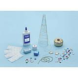 Faber-Castell Творческий набор стилиз. Елка с подсветкой 6196000 Color Changing String Art Tree, фото 6