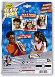 Crayola Интерактивная раскраска Смешные Лица животные 95-0292 Funny Faces Zany Zoo Coloring Book, фото 2