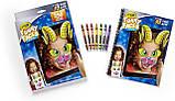 Crayola Интерактивная раскраска Смешные Лица животные 95-0292 Funny Faces Zany Zoo Coloring Book, фото 3