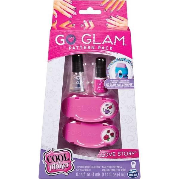 Cool Maker Дополнительный набор для маникюра и педикюра нейл-арт 2 кассеты Go Glam Love Story Pattern Pack