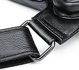 Сумка для мужчин слинг через плечо в гладкой коже Vintage 20204 Черная, фото 8