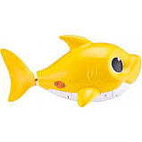 Robo Alive Интерактивная игрушка для ванны малыш акула Junior Baby Shark Pinkfong, фото 3