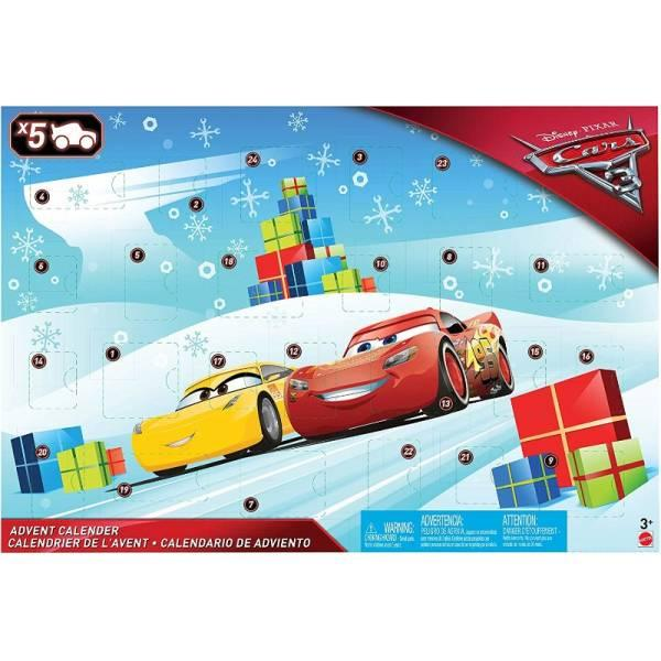 Disney Cars Тачки 3 адвент календар FGV14 Advent Calendar