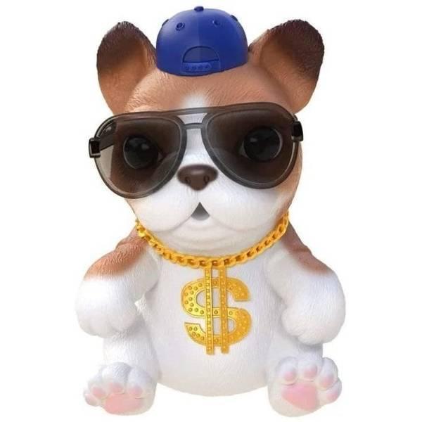 Little Live Pets OMG Интерактивный щенок собачка сквиш 26291 Hip Hop Squishy Puppy so Soft Have Talent